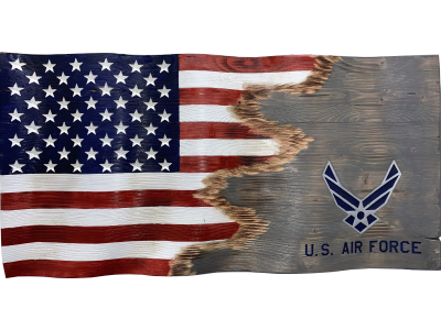 Custom Jacks Air Force Flag