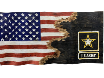 Custom Jacks US Army Flag
