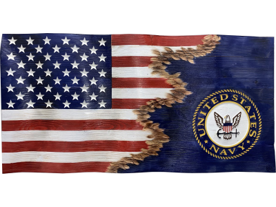 Custom Jacks US Navy Flag