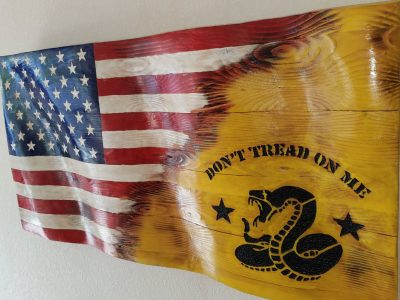 Don't Tread on Me Custom Jack